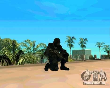 Jackhammer из Max Payne para GTA San Andreas por diante tela