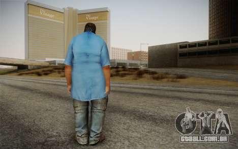 Dicker Ehegatte para GTA San Andreas segunda tela