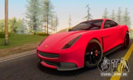 Dewbauchee Massacro 1.0 para GTA San Andreas