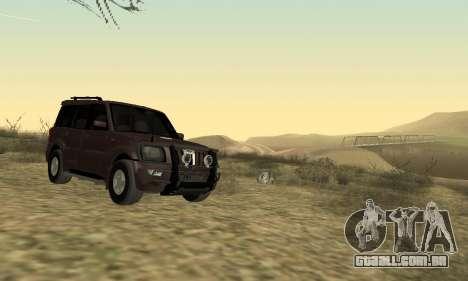 Mahindra Scorpio para GTA San Andreas esquerda vista