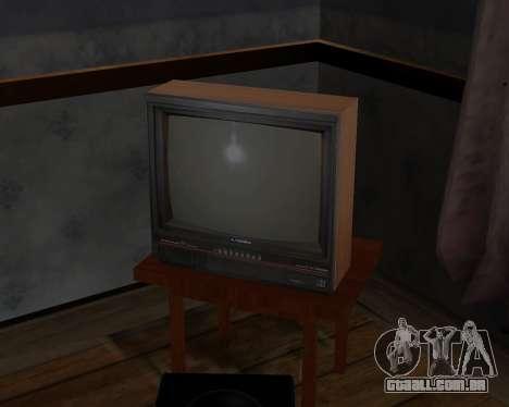Tv em cores de alfa-TC- para GTA San Andreas