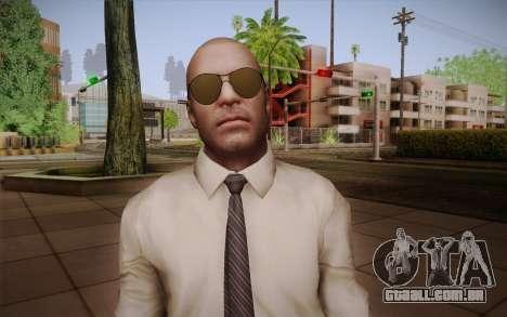 Agente especial de Jason Hudson из CoD: Black Op para GTA San Andreas terceira tela