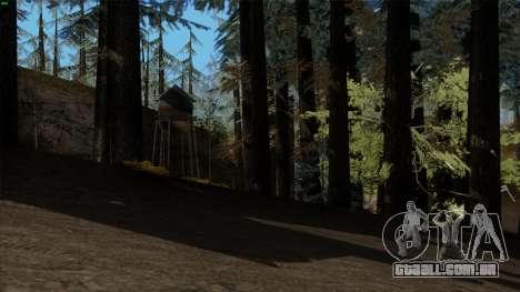 A densa floresta v2 para GTA San Andreas segunda tela