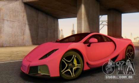 GTA Spano 2014 HQLM para GTA San Andreas interior