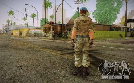 Corporal VDV para GTA San Andreas segunda tela