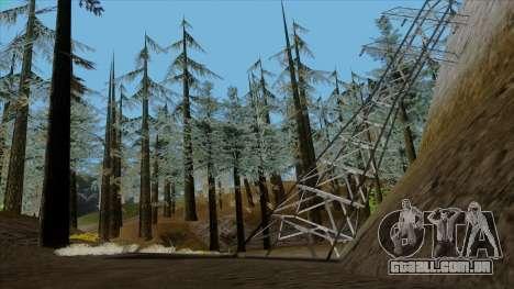 A densa floresta v2 para GTA San Andreas