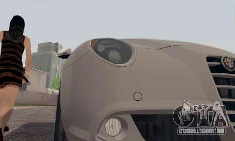 Afla Romeo Mito Quadrifoglio Verde para as rodas de GTA San Andreas