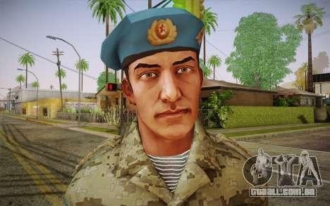 Corporal VDV para GTA San Andreas terceira tela