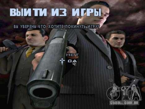 Tela de inicialização do Mafia II para GTA San Andreas décima primeira imagem de tela