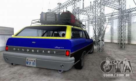 Dundreary Regina V1.0 para GTA San Andreas vista interior