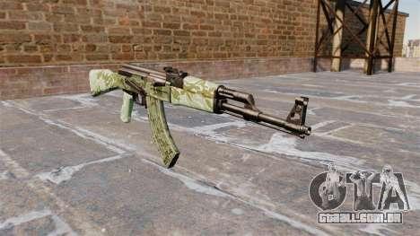 A AK-47 camo Verde para GTA 4