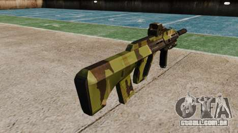 Автомат Steyr AUG-A3 Óptica da Floresta para GTA 4 segundo screenshot