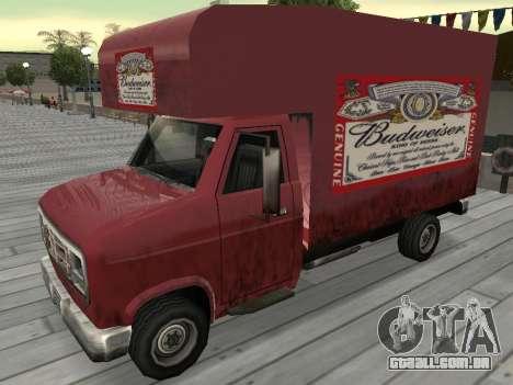 Nova propaganda em carros para GTA San Andreas décima primeira imagem de tela