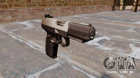 Arma FN Cinco sete Chrome para GTA 4