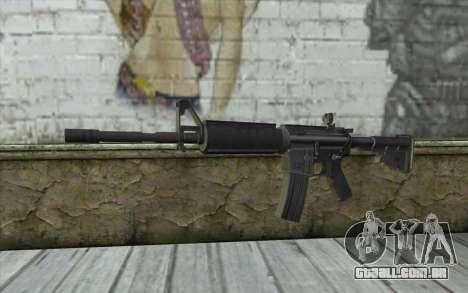 SGW M4 Rifle para GTA San Andreas