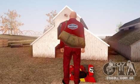 Bug Star Robbery No Cap para GTA San Andreas por diante tela