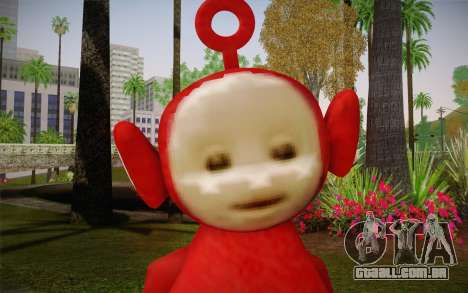 (Teletubbies) para GTA San Andreas terceira tela
