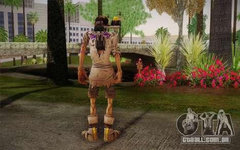 Professor Nakayama 2 из Borderlands para GTA San Andreas segunda tela
