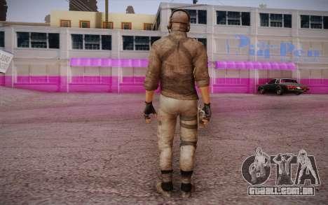 Mercenário sem armadura (COD MW3) para GTA San Andreas segunda tela