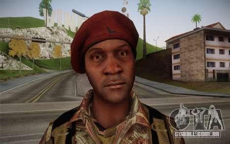 U.S. Soldier v2 para GTA San Andreas terceira tela