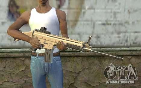 SCAR-L Custom para GTA San Andreas terceira tela