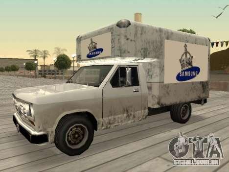 Nova propaganda em carros para GTA San Andreas décimo tela
