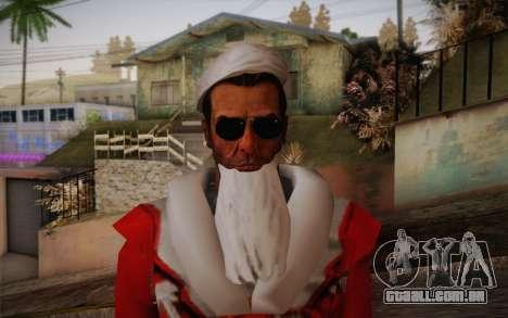 Santa Sam para GTA San Andreas terceira tela