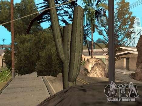 Da selva em uma rua Asteca para GTA San Andreas terceira tela
