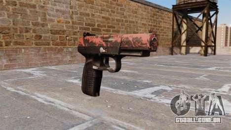 Arma FN Cinco sete Red tiger para GTA 4