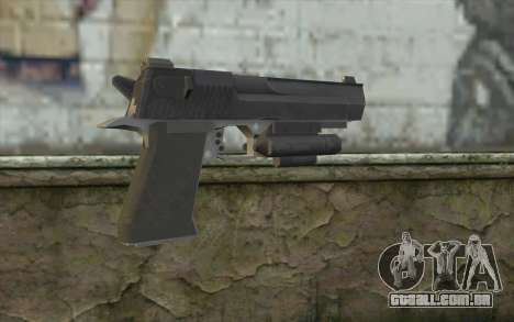 Desert Eagle from Modern Warfare 2 para GTA San Andreas segunda tela
