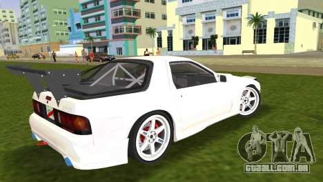 Mazda Savanna RX-7 III (FC3S) para GTA Vice City deixou vista