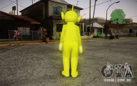 Despi (Teletubbies) para GTA San Andreas segunda tela