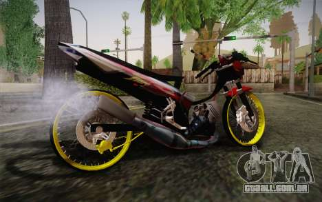 Yamaha Tiara S120 Speed MX drag para GTA San Andreas esquerda vista