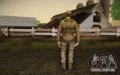 Ben Mott para GTA San Andreas segunda tela