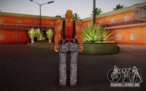 Duke Nukem para GTA San Andreas segunda tela