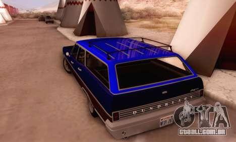 Dundreary Regina V1.0 para GTA San Andreas interior