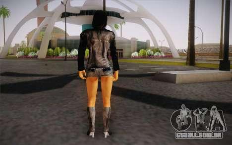 Jill Biker para GTA San Andreas segunda tela