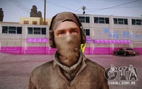 Mercenário sem armadura (COD MW3) para GTA San Andreas terceira tela