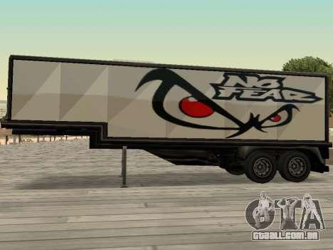 Nova propaganda em carros para GTA San Andreas terceira tela