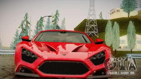 Zenvo ST1 SLow 2010 para GTA San Andreas