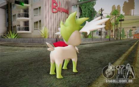 Shaymin Sky from Pokemon para GTA San Andreas segunda tela
