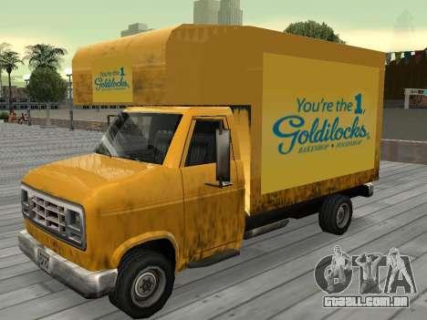 Nova propaganda em carros para GTA San Andreas twelth tela