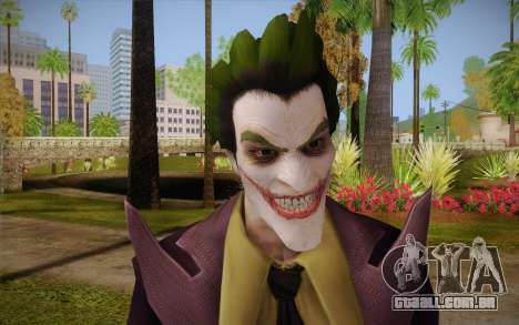 Joker from Injustice para GTA San Andreas terceira tela
