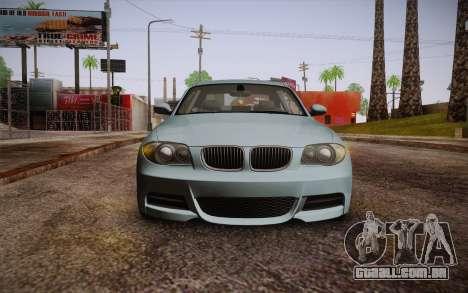 BMW 135i Limited Edition para GTA San Andreas vista traseira