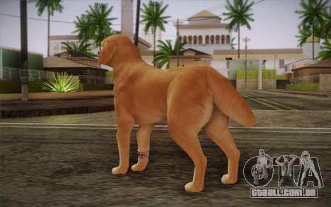 Rottweiler para GTA San Andreas segunda tela