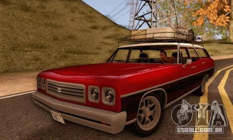 Dundreary Regina V1.0 para GTA San Andreas vista direita