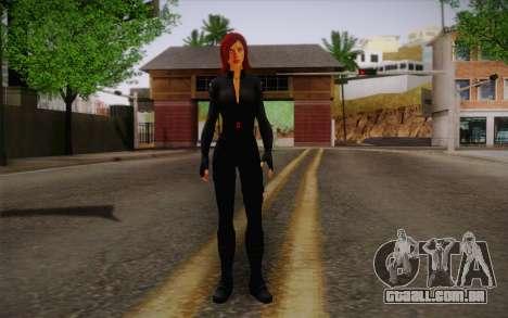 Scarlet Johansson из Vingadores para GTA San Andreas