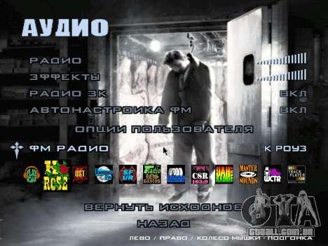 Tela de inicialização do Mafia II para GTA San Andreas nono tela