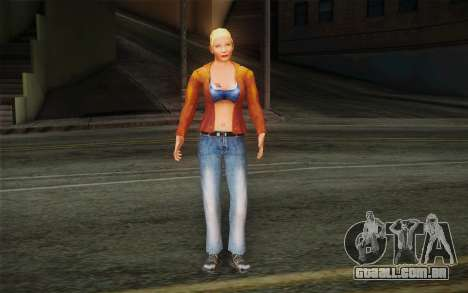 Woman Autoracer from FlatOut v1 para GTA San Andreas