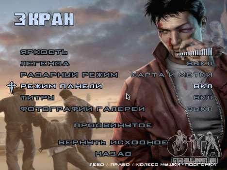Tela de inicialização do Mafia II para GTA San Andreas twelth tela